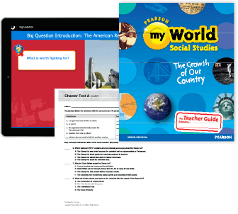 myWorld Curriculum collage