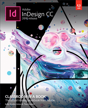 InDesign CC book cover