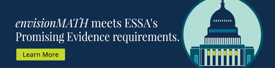 enVisionmath meets ESSA's Promising Evidence requirements.