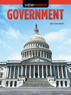 Grades 3-5 Content Readers Government Book Cover