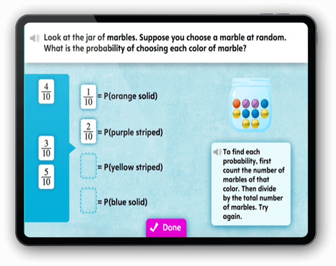 SuccessMaker Lesson Screenshot