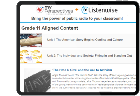 Listenwise™ Current Events Podcasts