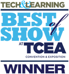 TECH & LEARNING Best of Show at TCEA Winner