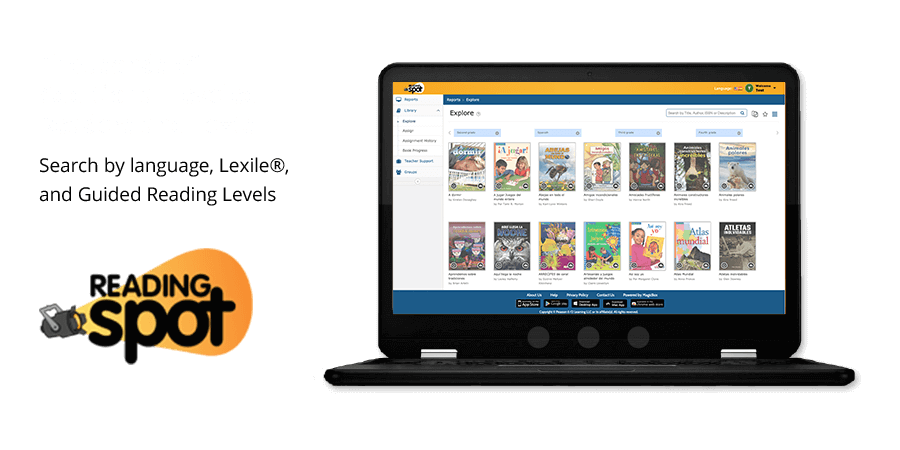 Thousands of Additional Leveled Readers and Texts Search by language, Lexile®, and Guided Reading Levels