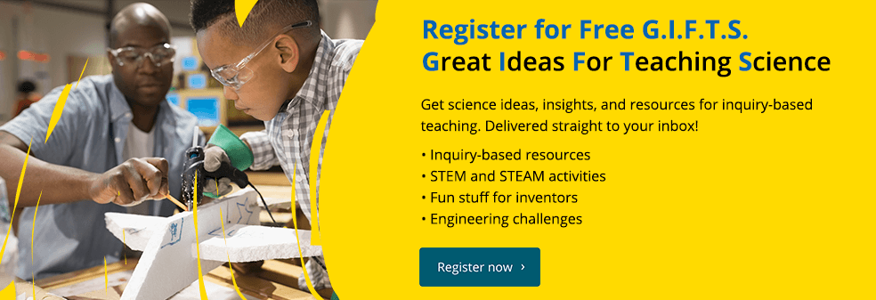 Register for for GIFTS: Great Ideas for Teaching Science