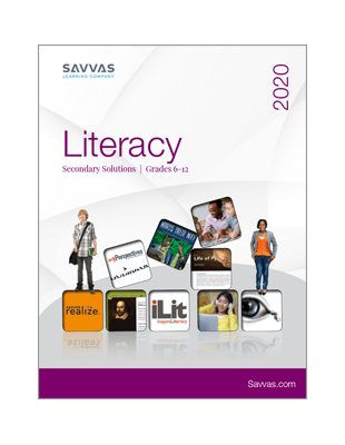 2020 Secondary Literacy Catalog
