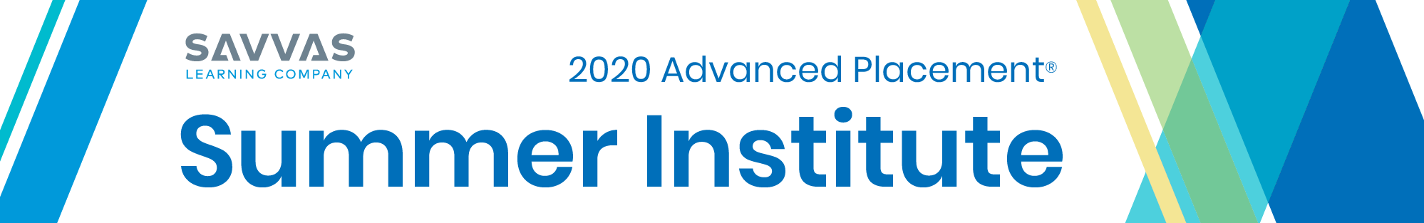 2020 Advanced Placement Summer Institute