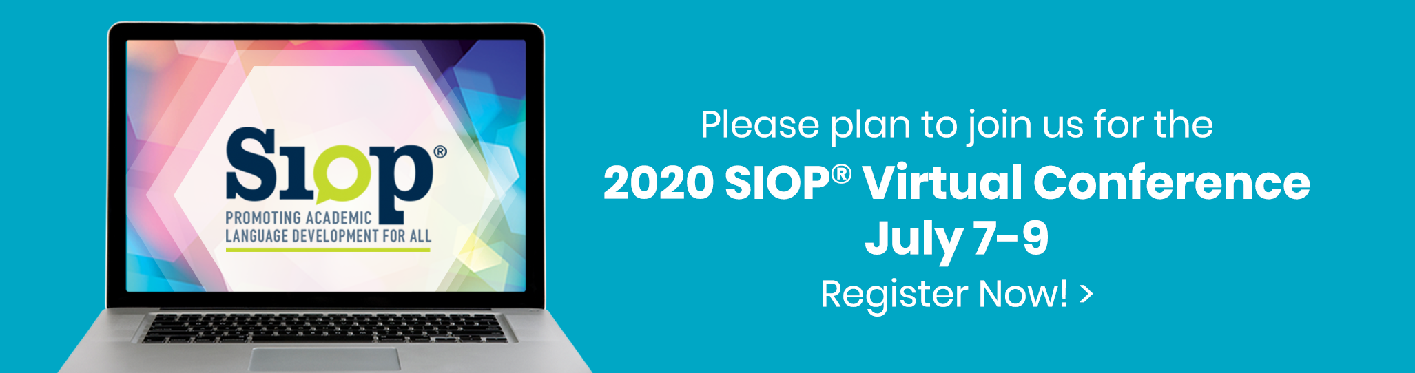 SIOP® National Conference | July 8-9, 2020