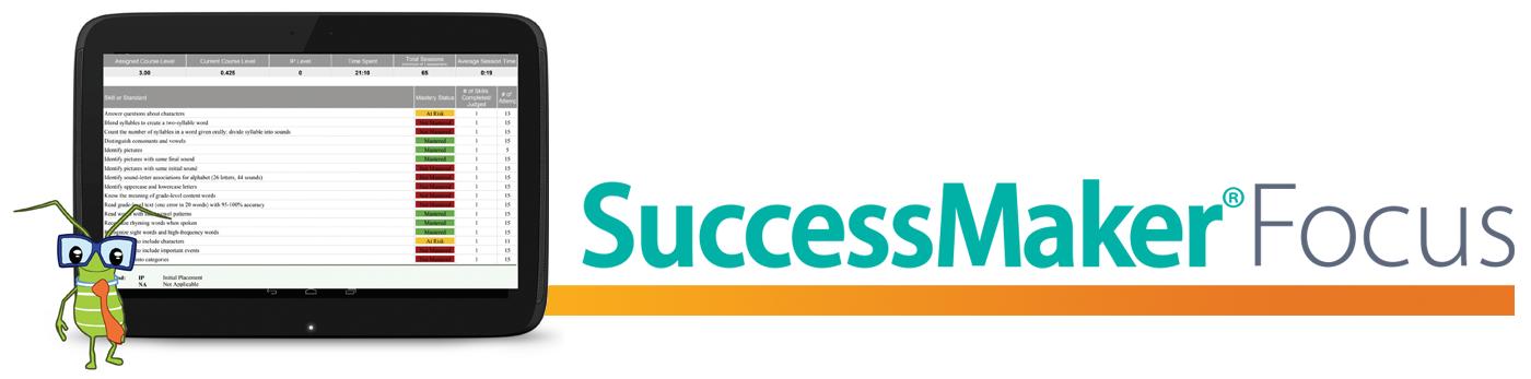 SuccessMaker® Focus - Savvas (formerly Pearson K12 Learning)