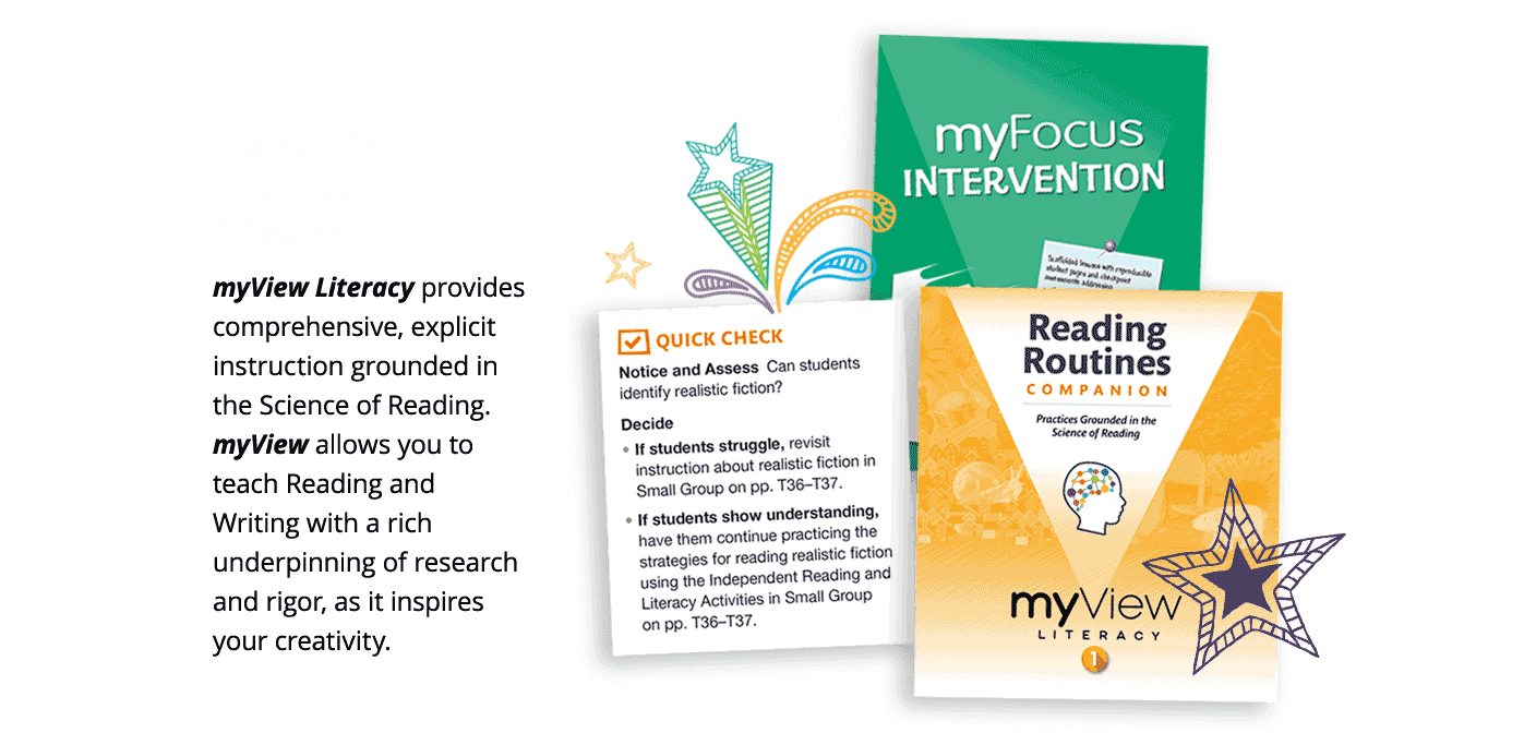 Instruction Grounded in Research - myView allows you to teach Reading and Writing Workshops with a rich underpinning of research and rigor, as it inspires your creativity.