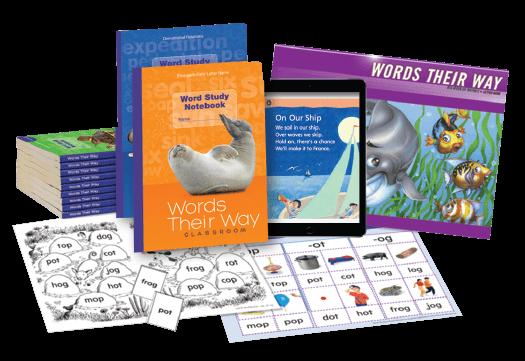 Words Their Way Classroom digital print programs