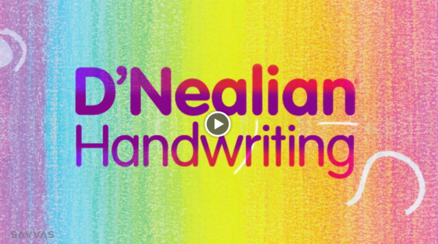 D'Nealian Handwriting Overview Video