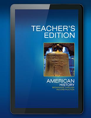 American History Middle Grades - Savvas Learning Company
