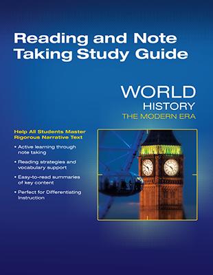 World History - Grade 9-12 - Savvas Learning Company