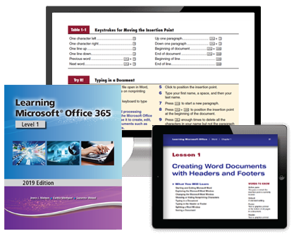 Learning Microsoft Office 365 Level 1: 2019 Edition