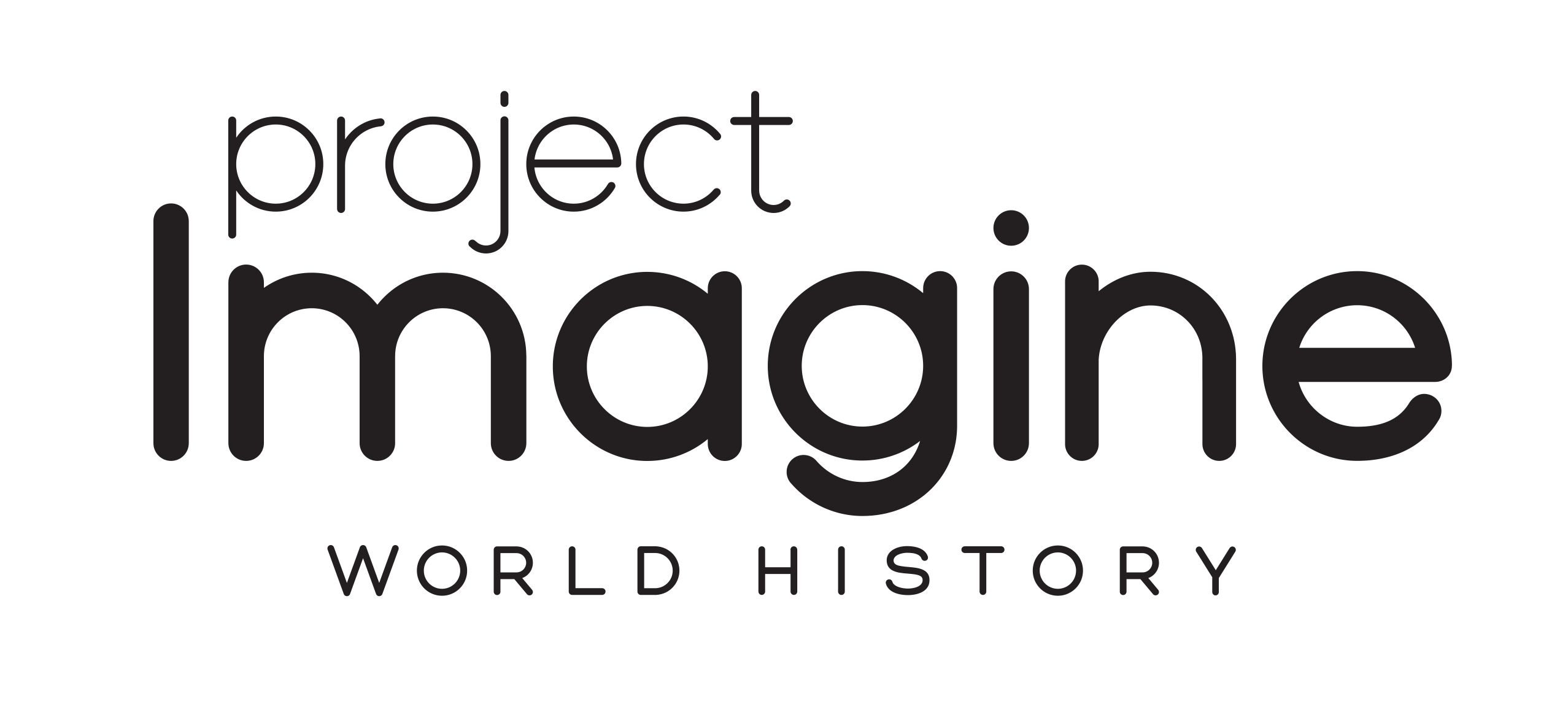 Project Imagine: World History logo