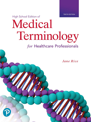 Medical Terminology For Health Care Professionals, Tenth Edition logo