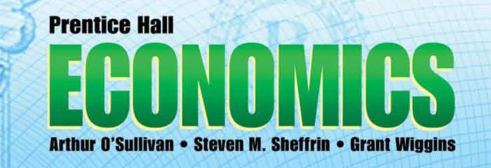 Prentice Hall Economics C 2013 Teacher Resources Savvas