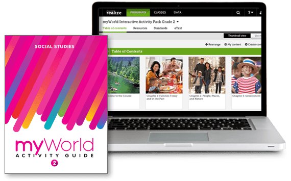 myWorld Interactive Activity Packs