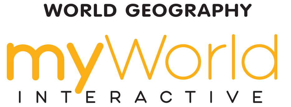 myWorld Interactive World Geography logo