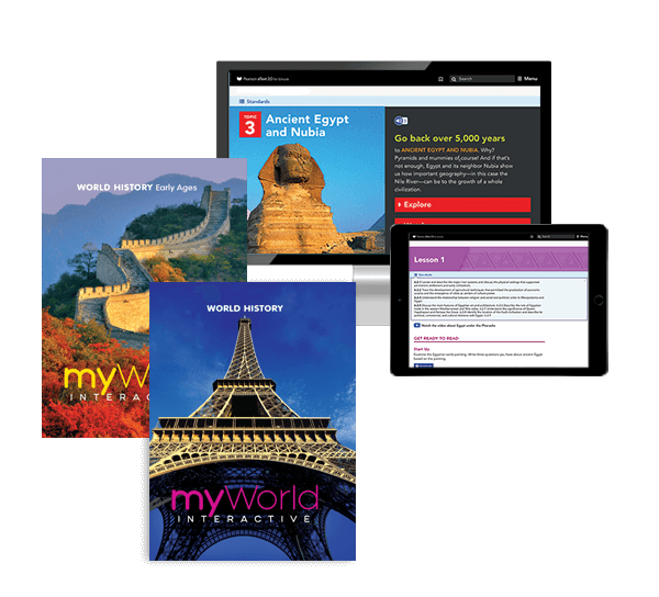 myWorld Interactive World History