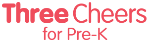 Three Cheers for Pre-K logo